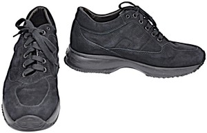 Hogan Interactive Lace Up Black Athletic