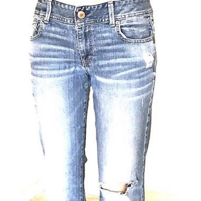 American Eagle Outfitters Straight Leg Jeans-Distressed Image 2