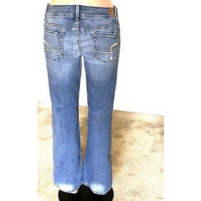 American Eagle Outfitters Straight Leg Jeans-Distressed Image 3