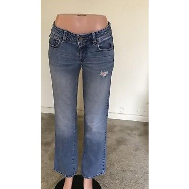 American Eagle Outfitters Straight Leg Jeans-Light Wash Image 1