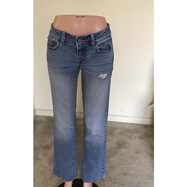 American Eagle Outfitters Straight Leg Jeans-Light Wash Image 2