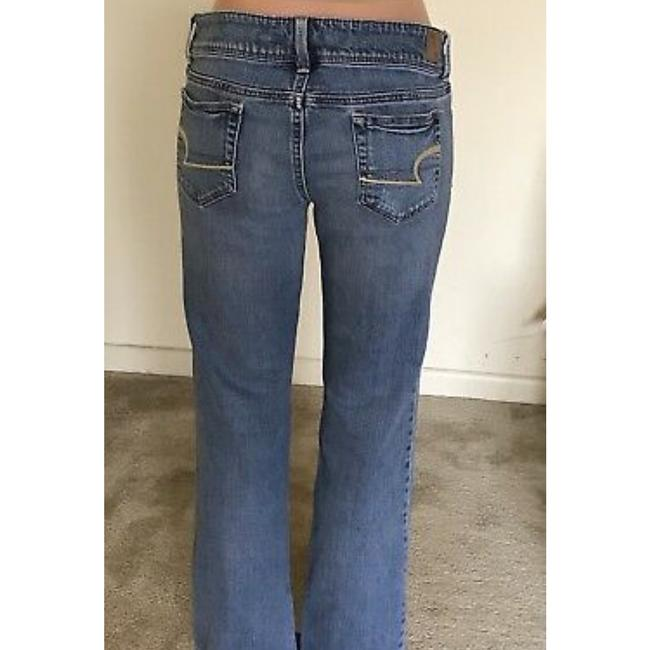 American Eagle Outfitters Straight Leg Jeans-Light Wash Image 3