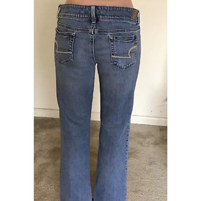 American Eagle Outfitters Straight Leg Jeans-Light Wash Image 4