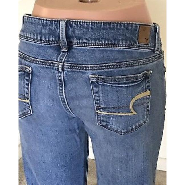 American Eagle Outfitters Straight Leg Jeans-Light Wash Image 5