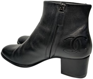 Chanel Ankle Black Boots
