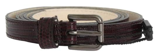 Preload https://img-static.tradesy.com/item/24706542/dolce-and-gabbana-bordeaux-d10367-3-women-s-leather-silver-buckle-belt85-cm-34-inches-belt-0-1-540-540.jpg