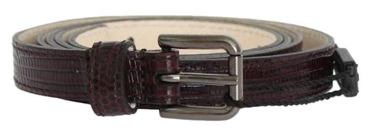 Preload https://img-static.tradesy.com/item/24706551/dolce-and-gabbana-bordeaux-d10367-4-women-s-leather-silver-buckle-belt95-cm-38-inches-belt-0-1-540-540.jpg