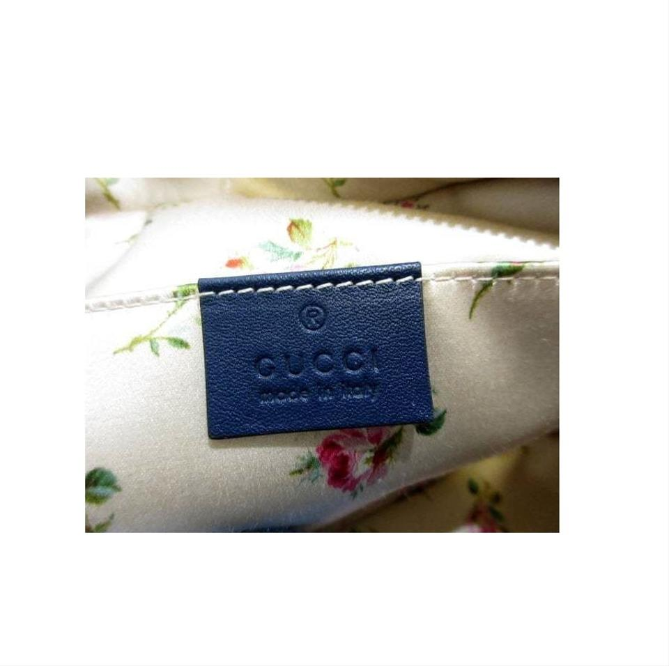278206d3d6b Gucci Marmont Matelasse Pearl Studded Small Gg Chain Blue Denim ...