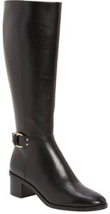 Tory Burch Leather Marsden Black Boots