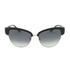 57a435eb3b53d Escada New Women SES 396 Metal   Acetate Clubmaster Cat-Eye Sunglasses 56mm