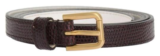 Preload https://img-static.tradesy.com/item/24706604/dolce-and-gabbana-bordeaux-d10363-1-women-s-leather-gold-buckle-90-cm-36-inches-belt-0-1-540-540.jpg