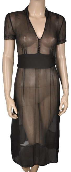 Preload https://img-static.tradesy.com/item/24706655/jcrew-black-silk-sheer-long-formal-dress-size-2-xs-0-1-650-650.jpg
