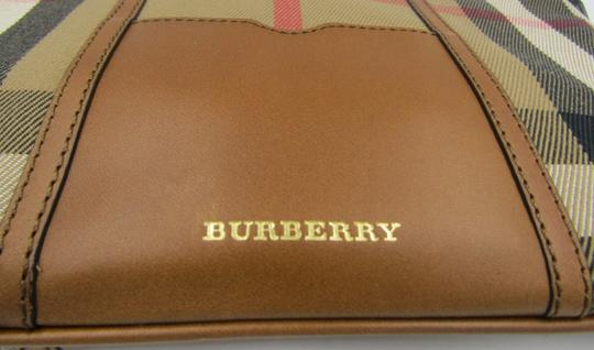 Burberry Nova Check Wallet Wallet Leather Brown Multi Clutch Image 2