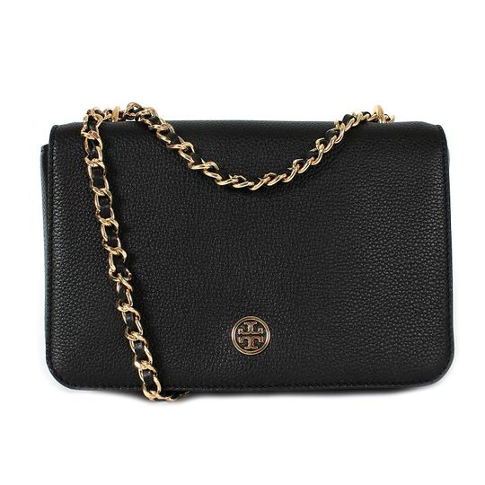 Preload https://img-static.tradesy.com/item/24706720/tory-burch-robinson-logo-pebbled-adjustable-chain-black-leather-shoulder-bag-0-2-540-540.jpg