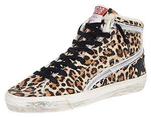 Golden Goose Deluxe Brand Leopard Athletic