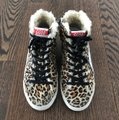 Golden Goose Deluxe Brand Leopard Athletic Image 1