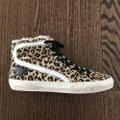 Golden Goose Deluxe Brand Leopard Athletic Image 3