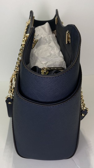 Michael Kors Chain Tote Leather Matching Set Shoulder Bag Image 4