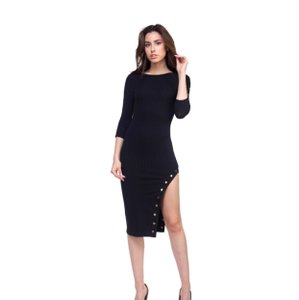 Haute Monde short dress black on Tradesy
