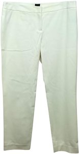 Saks Fifth Avenue Straight Pants Creme