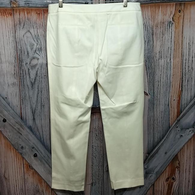 Saks Fifth Avenue Straight Pants Creme Image 1