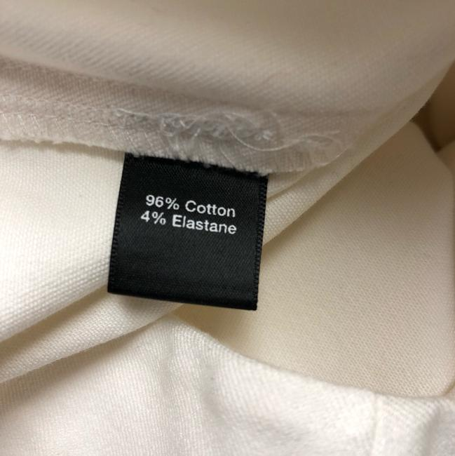 Saks Fifth Avenue Straight Pants Creme Image 3