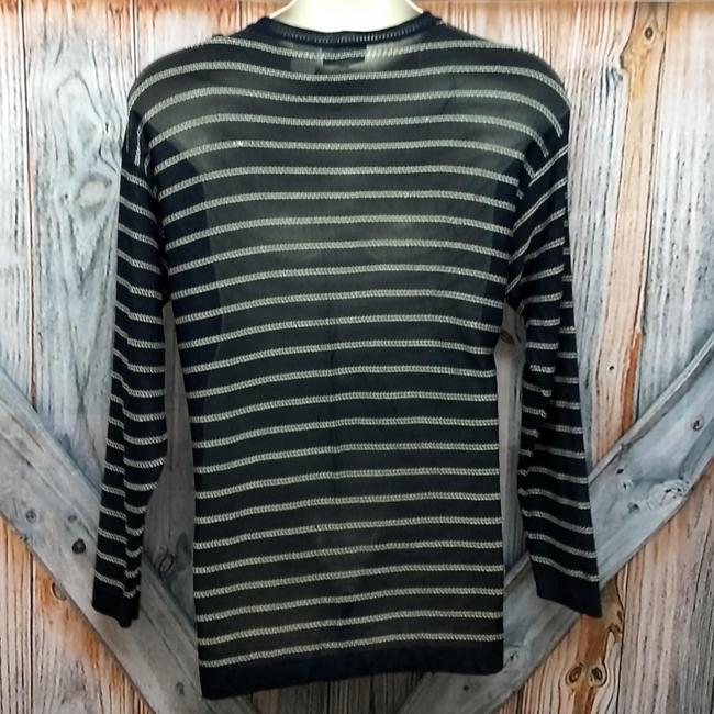 Gianfranco Ferre Knit Sweater Top Navy Image 1