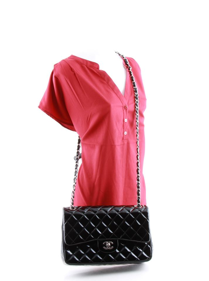 8950d2cd77f92f Chanel 2.55 Reissue Double Flap Classic Jumbo Maxi Patent Shoulder ...