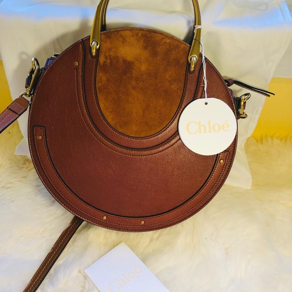 2723a42aca66 Chloé Pixie New Large Saffron Red Leather and Suede Cross Body Bag - Tradesy