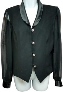 Another Thyme Top BLACK Blazer