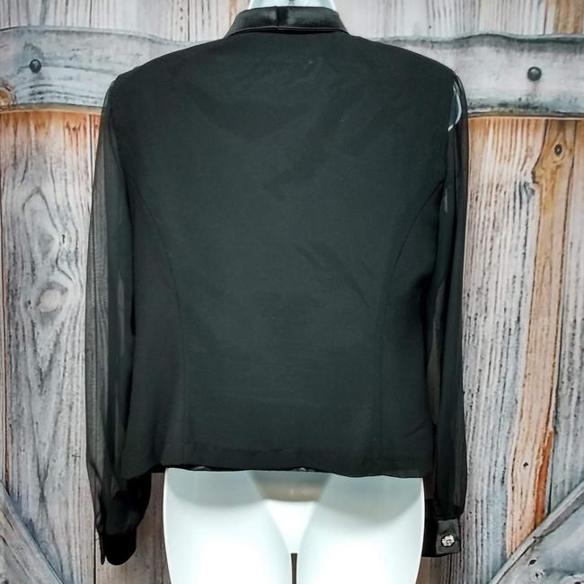 Another Thyme Top BLACK Blazer Image 1