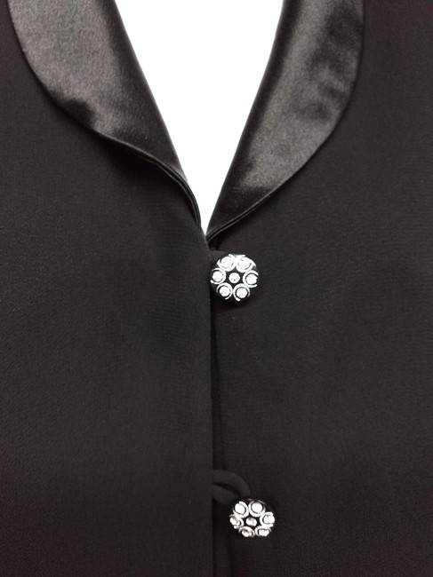 Another Thyme Top BLACK Blazer Image 2