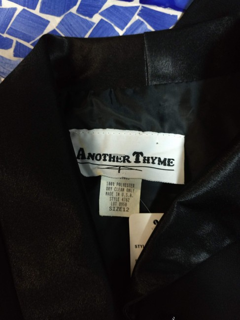 Another Thyme Top BLACK Blazer Image 3