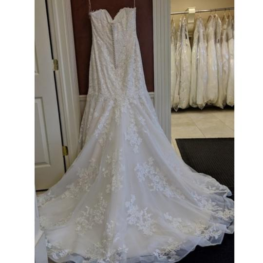 Maggie Sottero Ivory Lace Aretha By Traditional Wedding Dress Size 20 (Plus 1x) Image 1