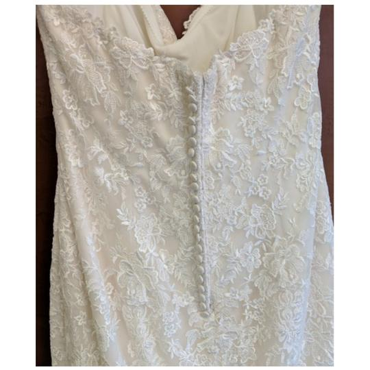Maggie Sottero Ivory Lace Aretha By Traditional Wedding Dress Size 20 (Plus 1x) Image 2