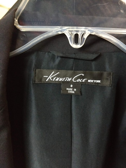 Kenneth Cole Jacket Black Blazer Image 2