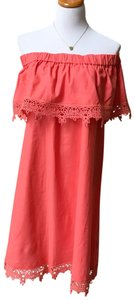 Diane Gilman short dress Coral on Tradesy