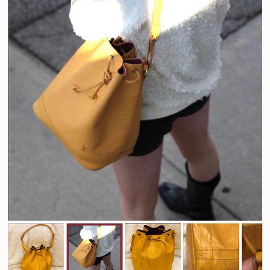 Louis Vuitton Tote in yellow Image 9