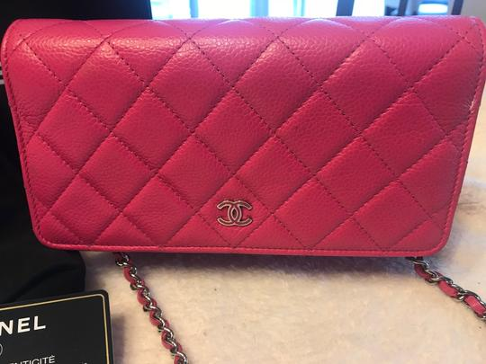 Chanel pink Clutch Image 1