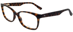 Tommy Hilfiger TH1492-086-53 Square Women's Havana Frame Clear Lens Eyeglasses