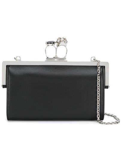 Preload https://img-static.tradesy.com/item/24707179/alexander-mcqueen-extra-150-off-with-coupon-skull-knuckle-duster-black-convertible-chain-calfskin-le-0-0-540-540.jpg