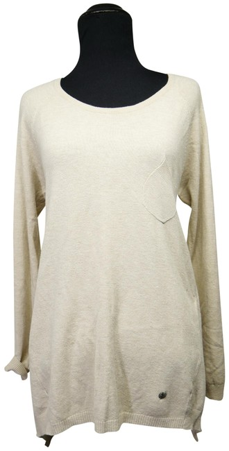 Preload https://img-static.tradesy.com/item/24707202/paris-knit-asymmetric-beige-sweater-0-1-650-650.jpg