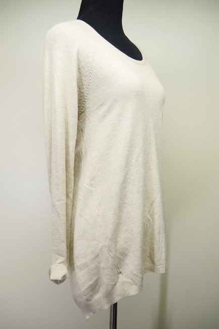 Nina Kendosa Asymmetric Knit Sweater Image 1