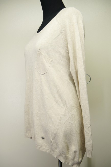 Nina Kendosa Asymmetric Knit Sweater Image 2