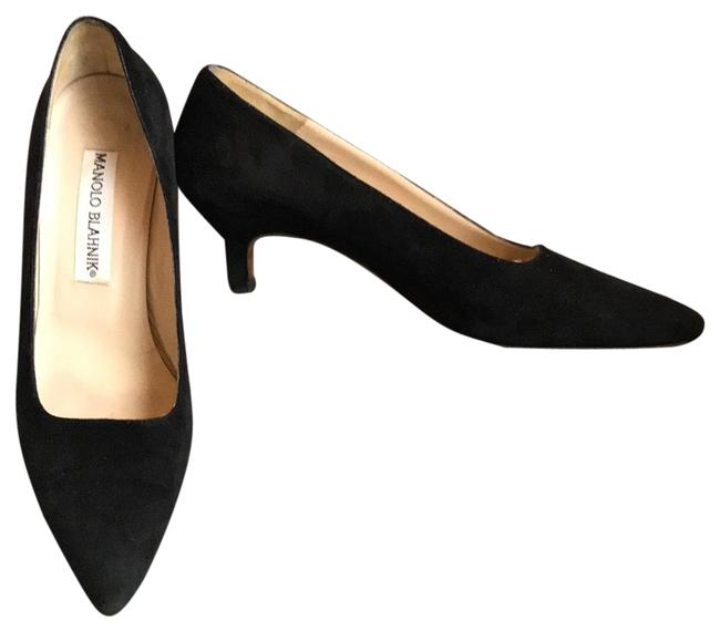 Item - Black Suede Pumps Size EU 35.5 (Approx. US 5.5) Regular (M, B)