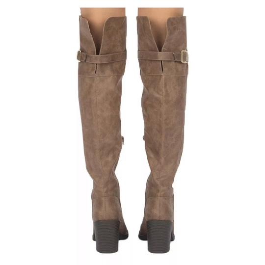 Qupid taupe Boots Image 1