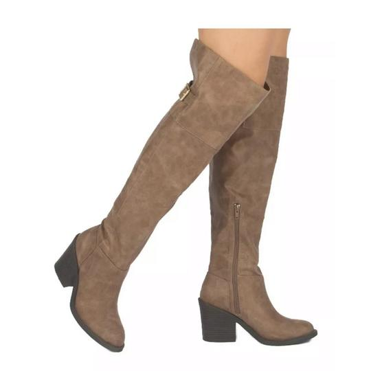 Qupid taupe Boots Image 2
