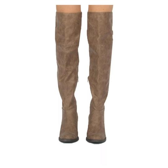 Qupid taupe Boots Image 3