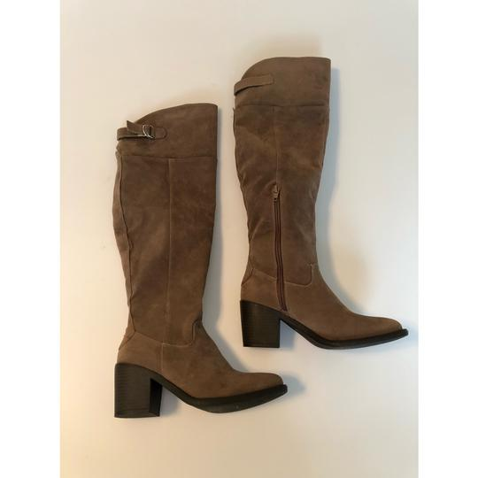 Qupid taupe Boots Image 5