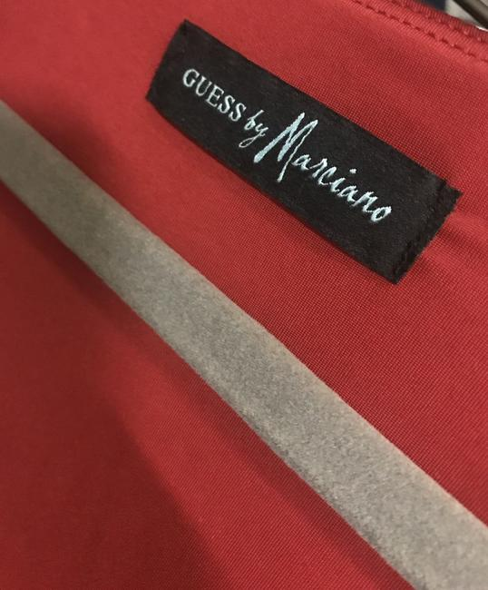 Guess By Marciano Evening Flowy V-neck Longsleeve Stretchy Dress Image 3